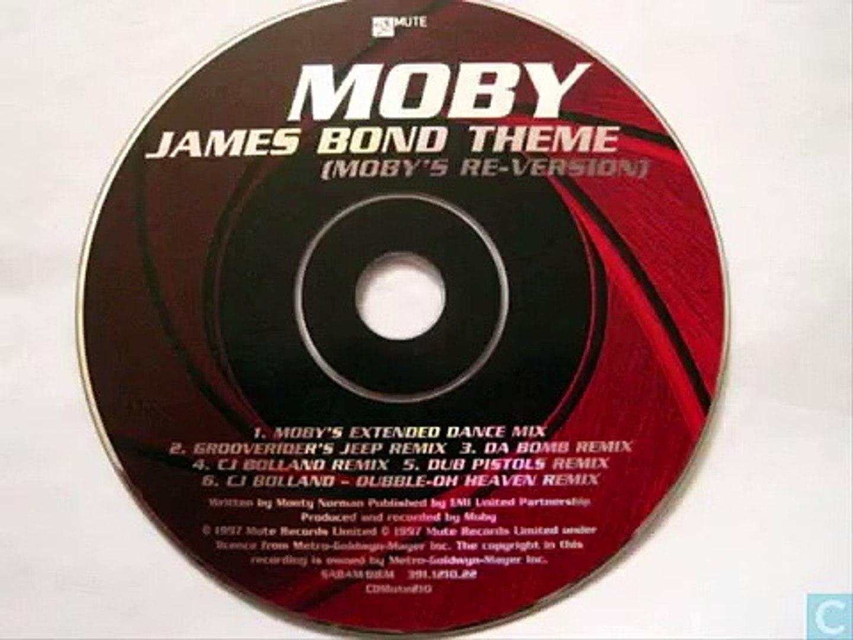 James Bond Theme Moby`s Re Version DOUBLE OH HEAVEN REMIX