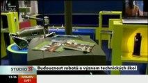 Roboti, robosoutěž a budoucnost technického vzdělávání ve Studiu ČT24