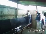 Urinal Trough Slide! Slip n Slide Style!