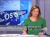 C's - Albert Rivera en 'Los desayunos' de TVE 22-11-2010.