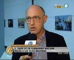 Visión Siete: Malvinas: Respuesta argentina al envío de un submarino nuclear