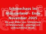 Schneechaos im Münsterland 2005
