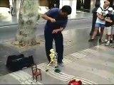 Skeleton Marionette Performance