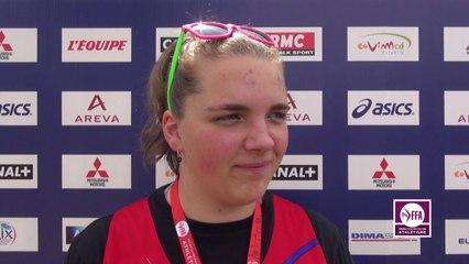 Alexia Sedykh : « Je suis satisfaite »
