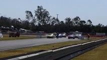 LH Torana vs Holden Commodore Off Street Drags Powercruise 37 Queensland Raceway Willowbank