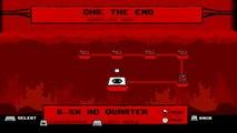 Super Meat Boy - The End, Dark World - No Deaths Speedrun (Dr Fetus Boy)
