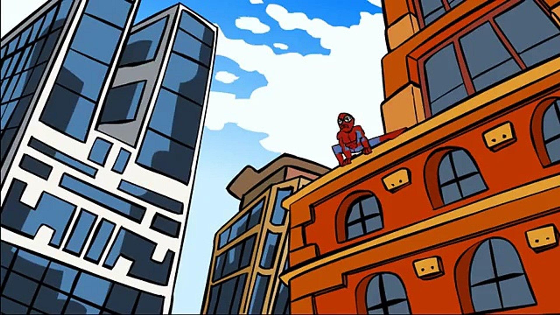The Amazing Spiderman parody (Spider man parody cartoon)