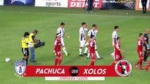 Los goles del: Pachuca vs Xolos (2-1)