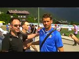 S.S. Lazio in ritiro ad Auronzo di Cadore