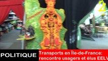 Transports en Île-de-France: rencontre usagers et élus EELV