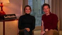 Interview: 'Les Miserables' stars Eddie Redmayne and Samantha Barks