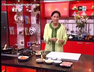 Choumicha - Recette Gratin de poulet aux champignon et carottes