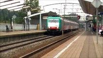 Extra lange treinen door Zwijndrecht (22 augustus 2010)