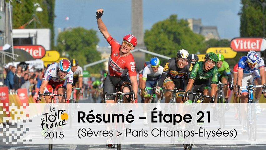 Résumé - Étape 21 (Sèvres - Grand Paris Seine Ouest > Paris Champs-Élysées) - Tour de France 2015