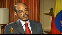 Al Jazeera Interview: Meles Zenawi  tribal junta leader in Ethiopia