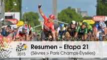 Resumen - Etapa 21 (Sèvres - Grand Paris Seine Ouest > Paris Champs-Élysées) - Tour de France 2015