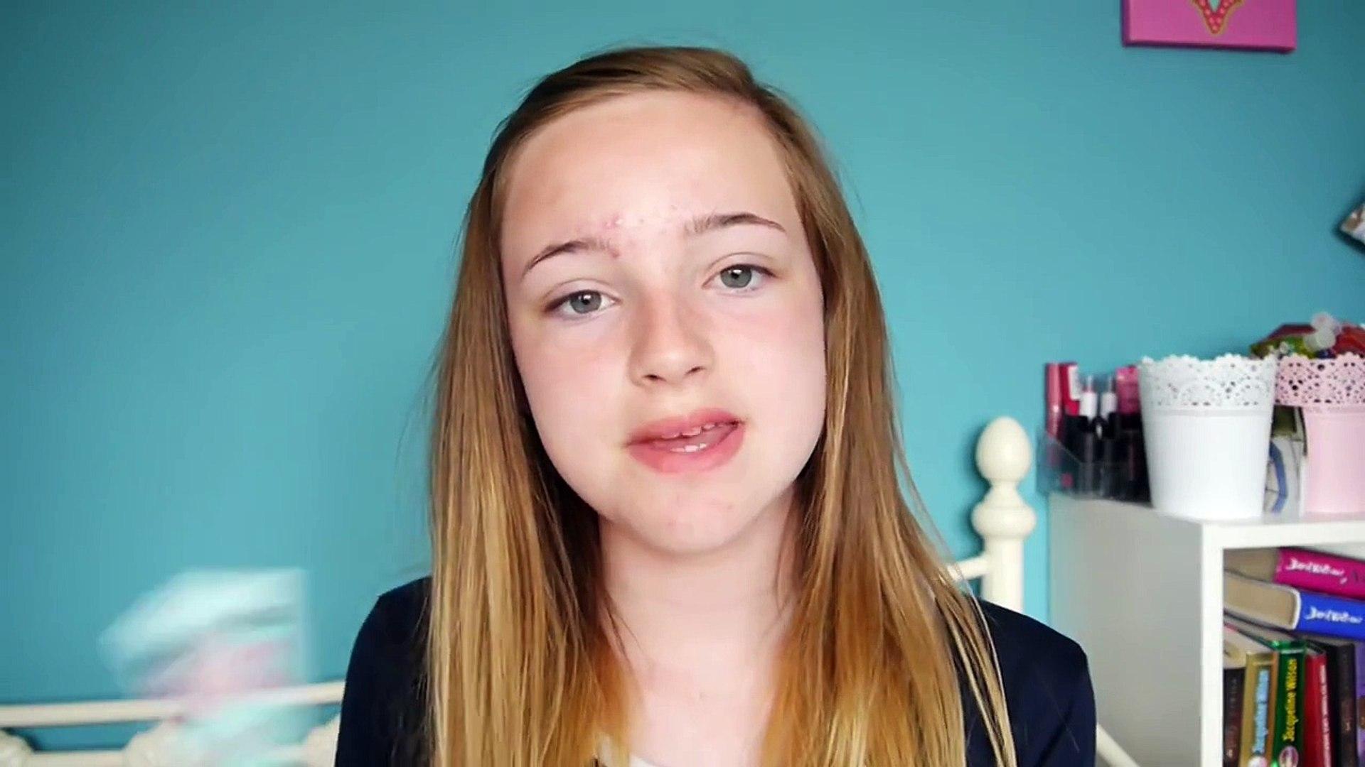 No mirror makeup challenge   Holly May