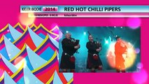 Red Hot Chilli Pipers, Kieler Woche 2014, 26.06.2014