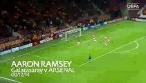FIFA Puskas yılın golü ödülü adayı - Aaron Ramsey