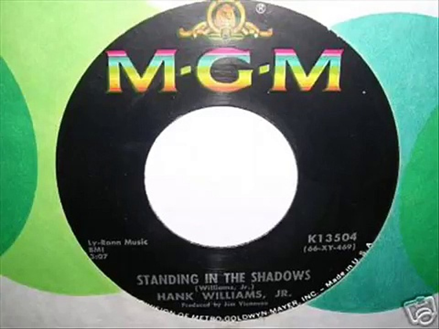STANDING IN THE SHADOWS by HANK WILLIAMS JR.
