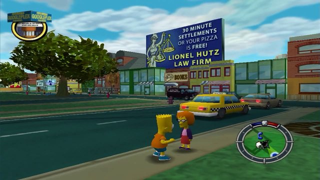 Eu sou bart simpson!   the simpsons hit run