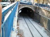 Marseille, tramway T1 sortie tunnel Noailles