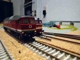 Roco BR 132 der DR mit Henning Sound von Modellbauwelt Henning Spur TT 1:120 Ludmilla