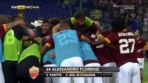Roma Hellas Verona 2-0 Destro Florenzi, super Zampa