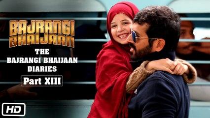 The Bajrangi Bhaijaan Diaries - Part XIII | Candid Harshaali Malhotra