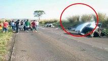 Imagem de espíritos de mãos dadas causa polêmica - acidente com duas mortes