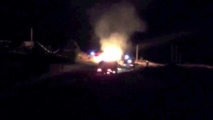 Incendie de fourrage à Monistrol-sur-Loire