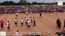 Mène 2, finale France Quadrettes 2015, Sport Boules, Saint-Denis-lès-Bourg 2015