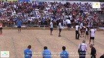 Mène 4, finale France Quadrettes 2015, Sport Boules, Saint-Denis-lès-Bourg 2015
