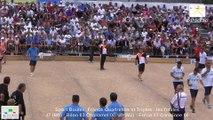 Mène 5, finale France Quadrettes 2015, Sport Boules, Saint-Denis-lès-Bourg 2015