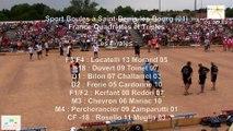 Mène 9, finale France Quadrettes 2015, Sport Boules, Saint-Denis-lès-Bourg 2015