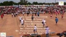 Mène 1, finale France Quadrettes 2015, Sport Boules, Saint-Denis-lès-Bourg 2015