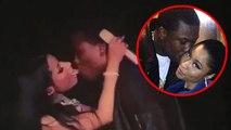 (Video) Nicki Minaj KISSES Meek Mill On Stage