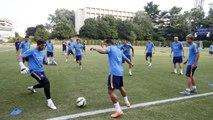 FC Barcelona training session: Barça trains in DC