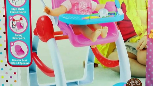 Baby Alive Doll Baby Swing High Chair Amp Car Booster Seat