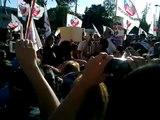 Huelga de Trabajadores del Sindicato Nacional Jumbo (Tarde del 05/04/12) [FINAL DE LA HUELGA]