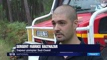 Incendie en Gironde : 600 pompiers toujours mobilisés