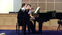 Violin Prodigy Spencer Tsai, age 9, - Mendelssohn Violin Concerto in E minor 2mvt