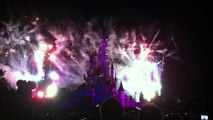 Feu d'artifice Disneyland Paris