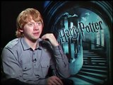 HARRY POTTER AND THE HALF BLOOD PRINCE Interviews -- Daniel Radcliffe, Emma Watson and Rupert Grint