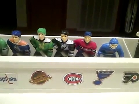 GAME ON! Hockey Rules! Wayne Gretzky NHL All-Star table hockey game