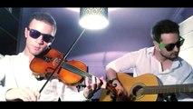 Pulp Fiction Misirlou (Violin & Guitar Cover) Dick Dale Version