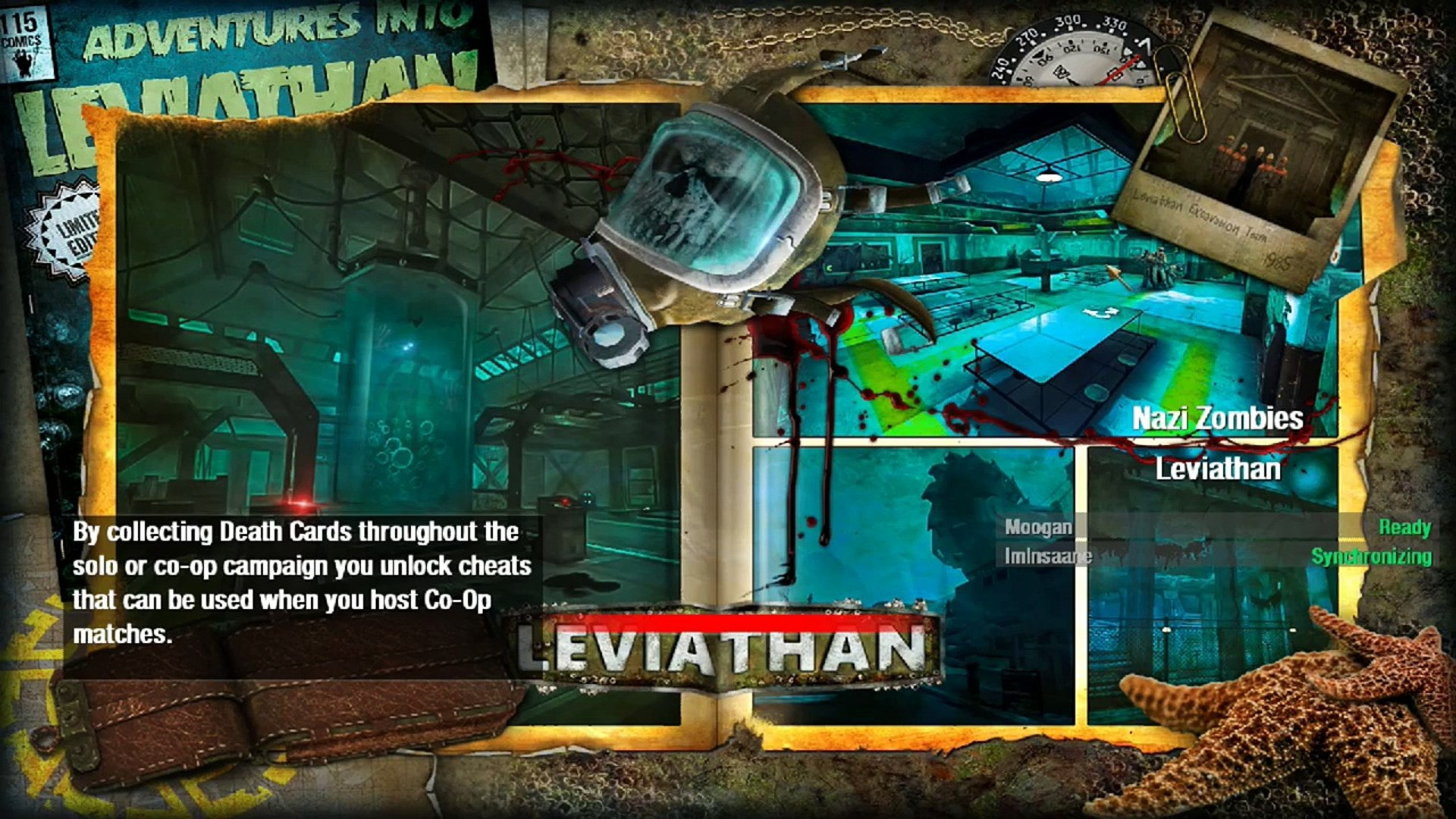 COD WAW MODDED ZOMBIES | LEVIATHAN