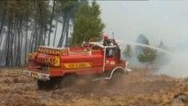 L'incendie en Gironde à travers nos télés, en 42 secondes