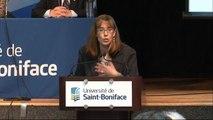 Marie-Josée Hamel, Directrice du CCERBAL à la Conférence sur le bilinguisme