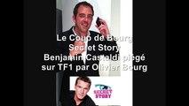 Benjamin Castaldi piégé par Olivier Bourg dans Secret Story sur TF1